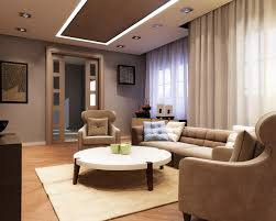 Relaxing Living Room Living Room Gray Recliners White Shelves Gray Sofa Brown Chairs