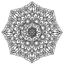 Mandala Coloring Pages Printable For Adults Glandigoartcom