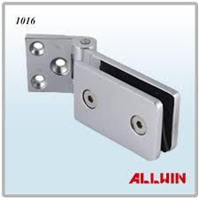 light duty frameless wall mount bracket square corner glass shower door hinge