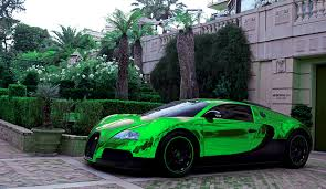 Is this bugatti chiron wrapped in chrome blue, in 26hrs, the greatest car and wrap. Green Wallpaper Bugatti Veyron