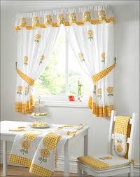 Curtain Sewing Patterns Gorgeous Essentials Kitchen Curtains Walmart In Modern Curtain Sewing