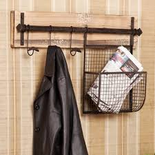 Diy Wall Mounted Coat Rack With Shelf Simple Interior Diy Wood And Metal Wall Mounted Coat Rack With Hanging