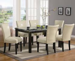 dining room  simple modern upholstered dining room chairs leather