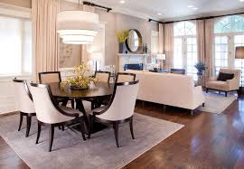 square rug size for dining room table