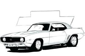 super car chevrolet camaro coloring page new modest design mustang