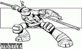 Small Picture Ninja Turtles Coloring Pages Free Printable Coloring Home