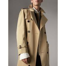 Burberry Sizing Charts Trench Coats The Westminster Extra Long Trench Coat In Honey Men Burberry United States