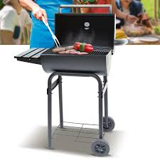 Barbecue Rectangulaire Charbon Avec Tablette Avramea Dya