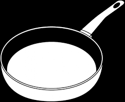 pan clipart black and white. sauce pan cliparts #2904642 clipart black and white e