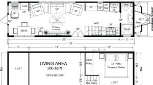 tiny house on wheels floor plans with no loft inspirational 2 bedroom tiny house plans free