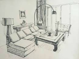 interior designers drawings. Interior Drawing Design Pencil Luxury Living Room Sketch  Sketches . Designers Drawings