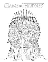 ned stark game of thrones color book image photo okids