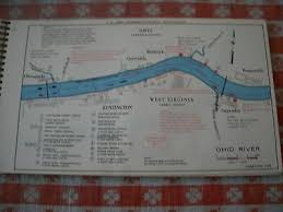1984 Ohio River Navigation Charts Us Army Corps Of Engineers