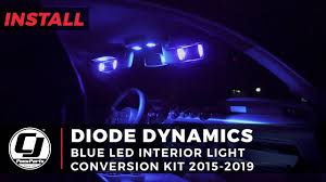 2015 Mustang Map Light Replacement 2015 2019 Mustang Install Diode Dynamics Led Interior Light Conversion Kit