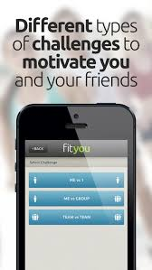 Group Fitness Challenge Tracker Fityou Fitness Game And Activity Tracker