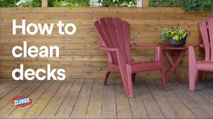 clorox how to clean an outdoor deck with clorox outdoor bleach