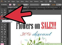 How To Make A Flyer In Adobe Illustrator 10 Steps With Pictures