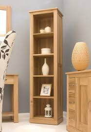 conran solid oak hidden home office. Conran Solid Oak Modern Furniture Narrow Living Room Office Bookcase Hidden Home D