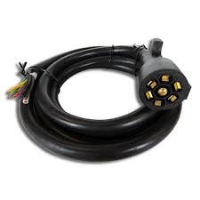 7 way rv wiring harness wiring diagram user 7 way 8 foot trailer cord wire harness light plug connector molded 7 way rv plug gooseneck wiring harness ford 7 way rv wiring harness