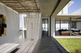 art glass sliding doors holiday home in yzerfontein south africa