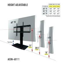 charming tv height on wall wall mount height wall mount bedroom wall mounting height flat wall