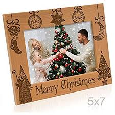 Amazon Com Kate Posh Our First Christmas Picture Frame 5x7