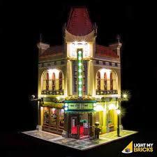 lego lighting. LEGO LED Light Kit For 10232 Palace Cinema Front Lego Lighting G