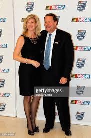 Hall of Fame Executive Director Winston Kelley and his guest Elaine... News  Photo - Getty Images