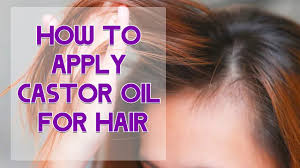 castor oil for hair loss can it turn thinning hair healthy again hold the hairline