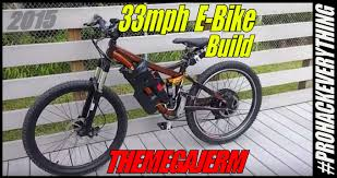 fast diy e bike 48v 18650 battery 1000w hub motor ebike build 004 jtgoespro