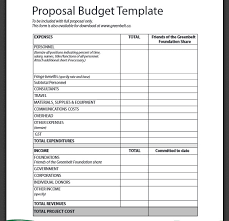 Sample Budget Proposal Fascinating 48 Business Budget Templates Free Word Excel PDF