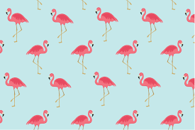 Flamingo Pattern Stunning Flamingo Seamless Pattern Graphic Patterns Creative Market