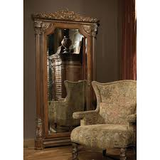 Michael Amini Living Room Furniture Michael Amini Villa Valencia Accent Wall Storage Mirror By Aico