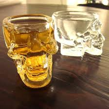 home accessory skull beer glass glasses cup skull cup vodka whiskey gadgets gadget