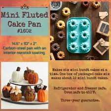 pered chef mini fluted baking pan
