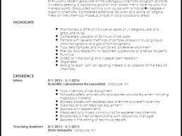 Analytical Chemist Resume Sample Analytical Chemist Cover Letter Chemist Resume Entry Level