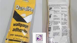 Wallpaper Glue Powder Durolite end ...