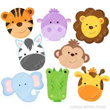 Safari Animals Template Safari Animal Clipart Free Download Best Safari Animal
