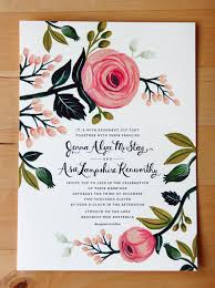 jenna asa s floral wedding invitations from rifle paper co