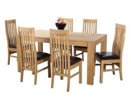 adorable solid oak extending dining table and 6 chairs solid oak extendable dining table 6 sinna