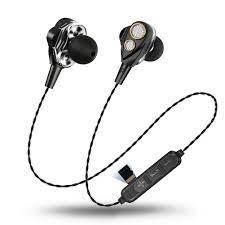 AMORUS Tai Nghe Bluetooth 2 Driver 6D Dynamic Không Dây V4.1 Hỗ Trợ Thẻ Nhớ  Tf - Đen, giá chỉ 128,000đ! Mua ngay kẻo hết!