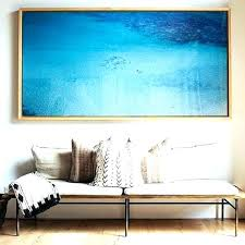 extra large framed art wall decor