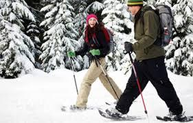winter outdoor activities. Champagne Powder Snowshoeing Available Here Winter Outdoor Activities W