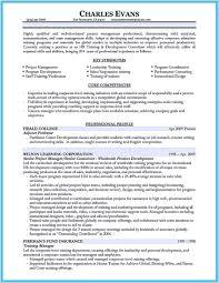On Job Training Objectives On The Job Training Resume 69727 The Job Training Resume