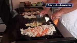 Griddle Master Video #1014-Teppanyaki-Recipe-Habachi-Japanese on Griddle  Top - YouTube