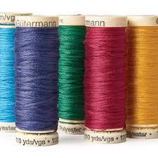 Choosing Machine Embroidery Threads Threads