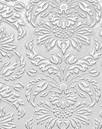 wallface 14794 imperial wall panel leather baroque damask 3d interior wall decor self adhesive white