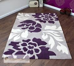 purple and grey area rugs popular purpleand gray cream modern new pertaining throughout 7