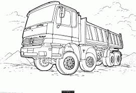 Cement Truck Pictures Coloring Home