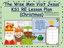 KS1 Epiphany RE lesson - The Wise Men Visit Jesus by ...